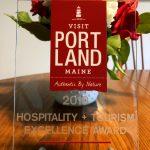2019 HOSPITALITY + TOURISM EXCELLENCE AWARD